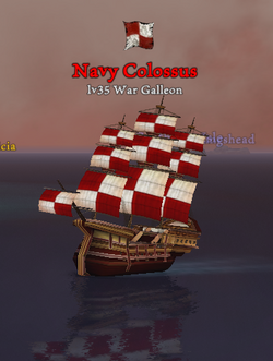 Navy Colossus clearer