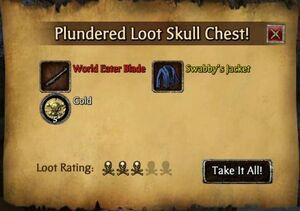 Cursed looting goal