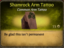 ShamrockArm Tattoo