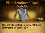 Plain Reinforced Tank