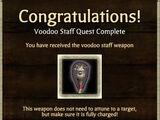 Weapon Unlock: Voodoo Staff