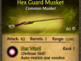 Hex Guard Musket