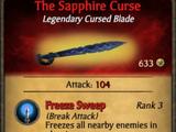 The Sapphire Curse