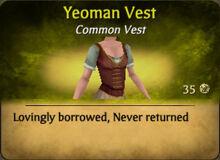 Yeoman Vest