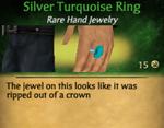 SilveTurquoiseRing
