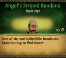 Angel's Striped Bandana