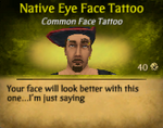 NativeEyeFaceTat