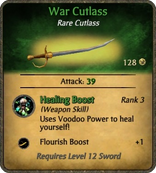 War Cutlass Card