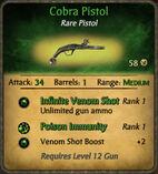Cobra Pistol