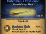 Dutchman's Pestilence