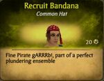 Recruit BandanaF