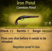 Iron Pistol