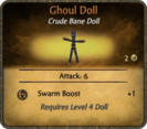 Ghoul Doll Card