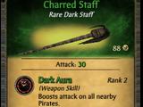 Charred Staff