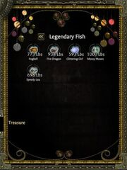 Will's Complete Fishign Inventory
