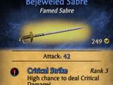 Bejeweled Sabre