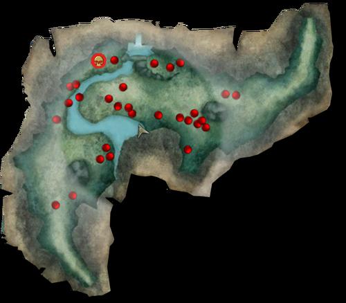 Queens nest map
