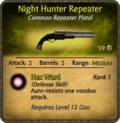 Night Hunter Repeater Card