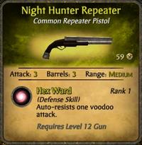 Night Hunter Repeater Card