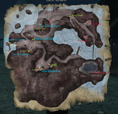 Map Raven's Cove