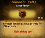 Cannoneer draft better
