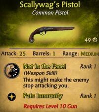 Scallywag's Pistol
