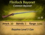 CommonFlintlockBayonet