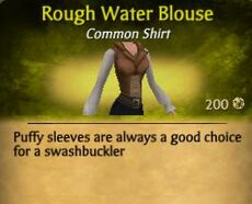 F Rough Water Blouse