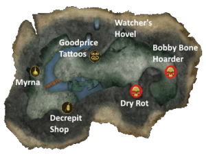 Hollowed Woods Map New