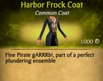 F Harbor Frock Coat