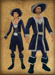 French Privateer outfit