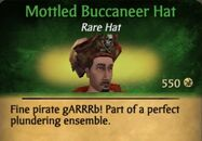 Moddled Buccaneer Hat