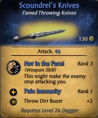 Scoundrel's Knives - clearer