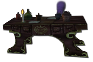Potions table trans