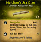 Merchant's Sea Chart