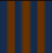 Orange stripe emblem