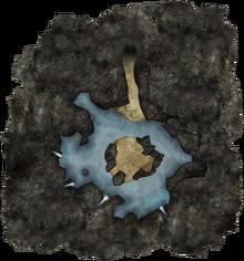 Barbossa's Grotto Map