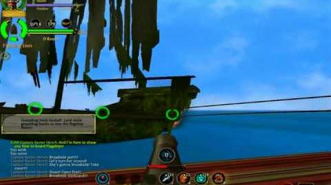 Pirates of the Caribbean Online Tutorial Flagship Battle!