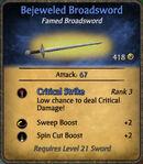 Bejeweled Broadsword 2010-11-27