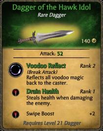 Dagger of the Hawk Idol