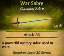 War Sabre