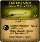 Black Fang Knives Card