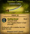 Voodoo Sword