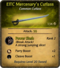 EITC Mercenary's Cutlass Card