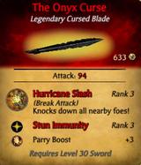 The Onyx Curse