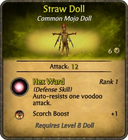 Straw Doll Card