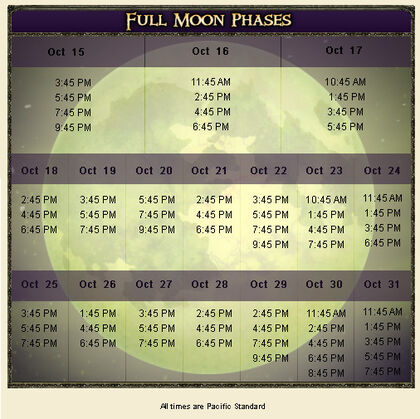 Curse Moon Phases