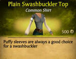 F Swashbuckler Top variations