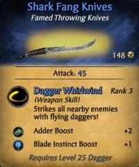 Shark Fang Knives - clearer