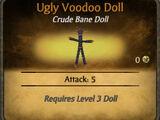 Ugly Voodoo Doll